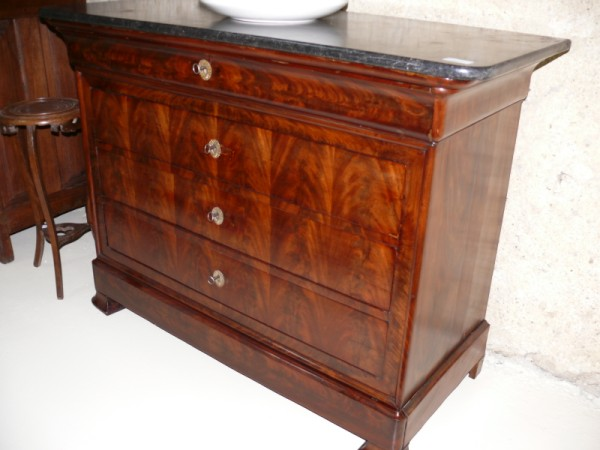 Commode louis philippe meuble ancien albert antiquit for Meuble antiquite