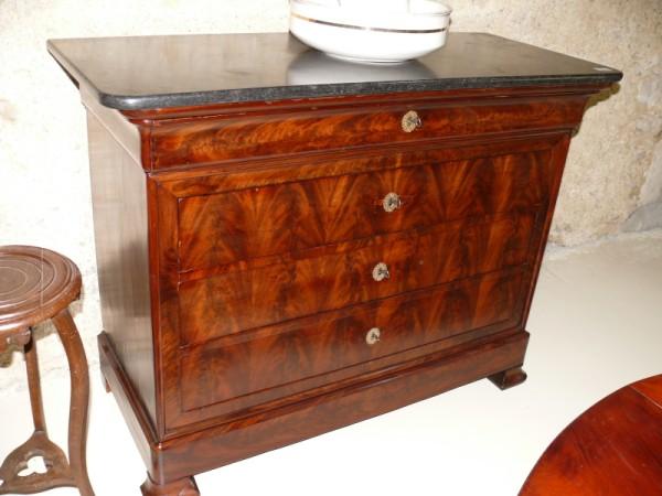 Commode louis philippe meuble ancien albert antiquit - Commode secretaire louis philippe ...