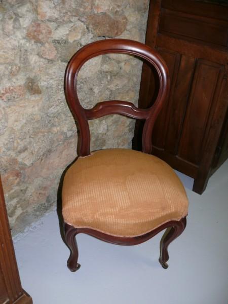 Chaises fauteuils louis philippe salon louis philippe for Salon louis philippe
