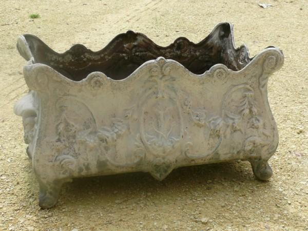 Jardini re en fonte objet d co jardin albert antiquit for Objet deco jardin fonte