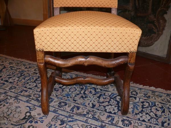 chaise style louis 14 si ge restaur albert antiquit. Black Bedroom Furniture Sets. Home Design Ideas